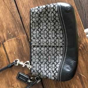 Coach Wristlet - used but in excellent condition